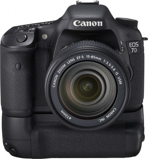 Canon EOS 7D with Grip