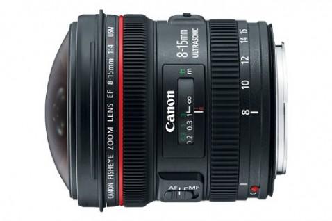 EF 8-15mm f:4 L USM Fisheye Lens