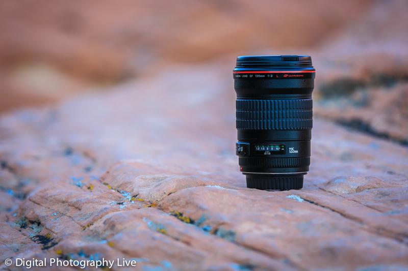 Canon EF 135mm f/2.0L Lens