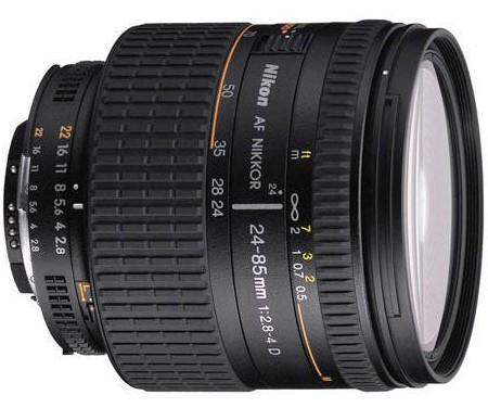 Nikon AF Zoom-Nikkor 24-85mm f:2.8-4D IF Lens