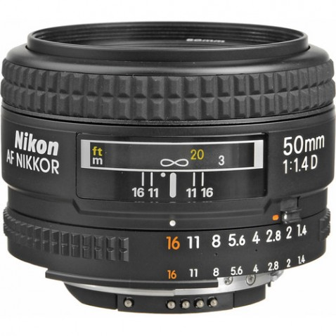 Nikon AF Nikkor 50mm f/1.4D Lens