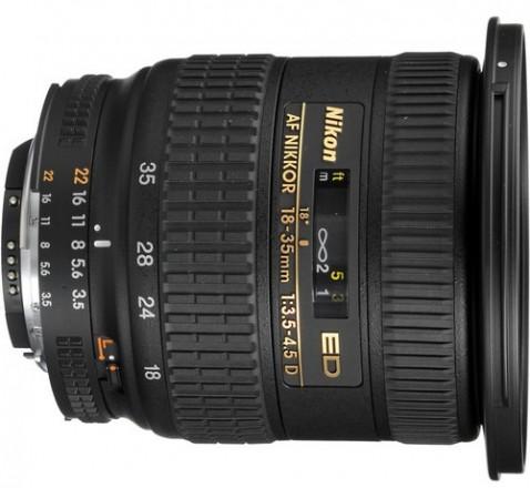 Nikon AF Zoom-Nikkor 18-35mm f/3.5-4.5D IF-ED Lens