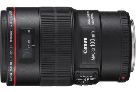 Canon EF 100mm f:2.8 L IS USM Macro Lens