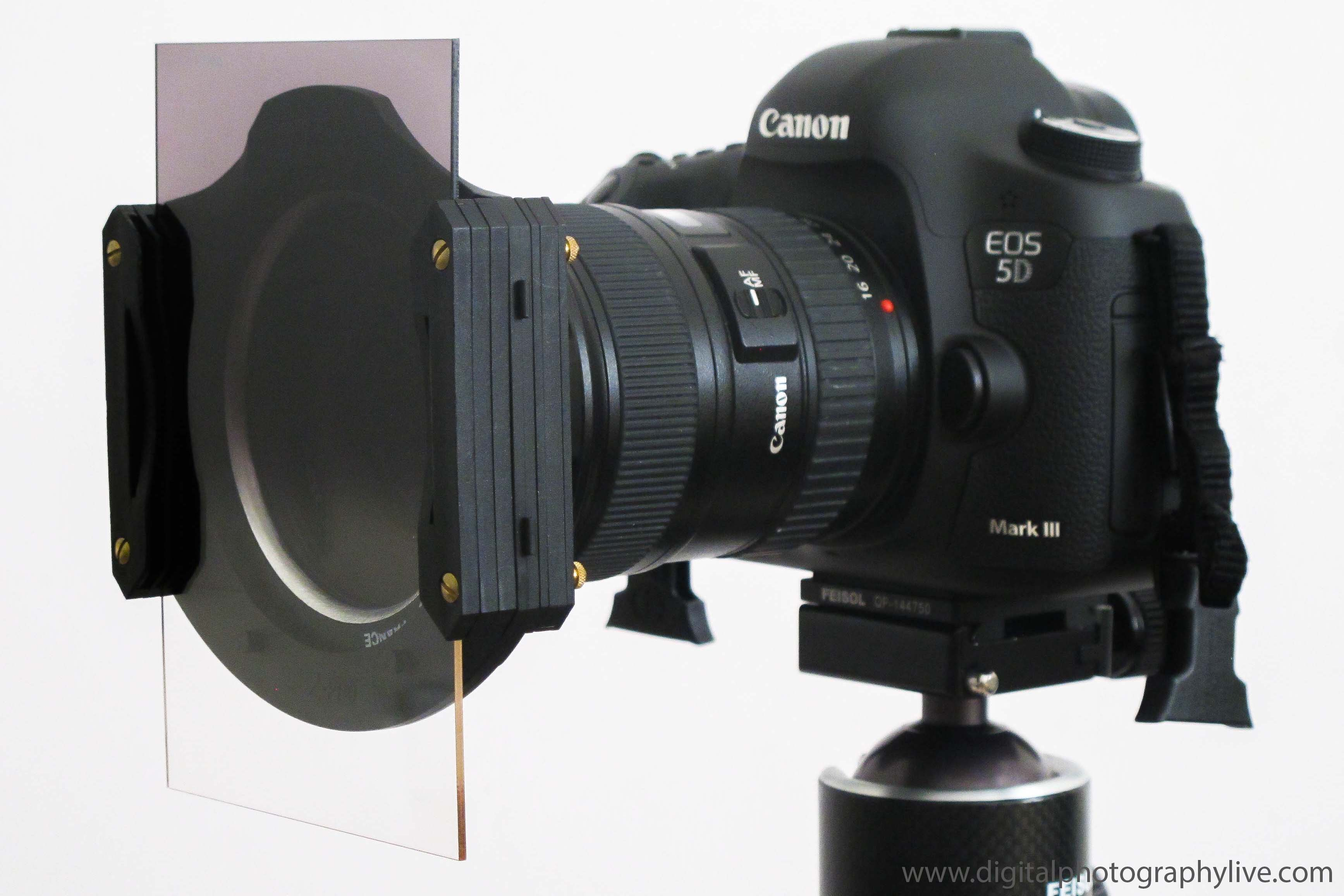 Canon 5D III & Cokin Z Pro Graduated Neutral Density Filter