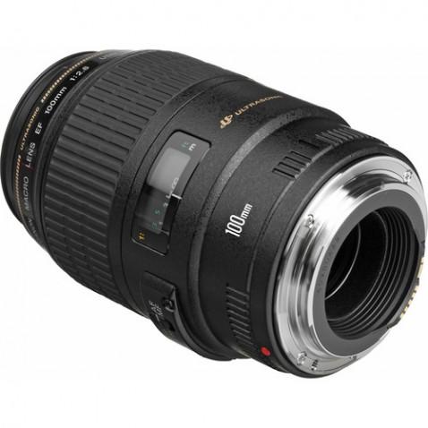 Canon EF 100mm f:2.8 USM Macro Lens-c