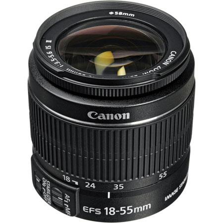 Canon EF-S 18-55mm f:3.5-5.6 IS II Lens-a