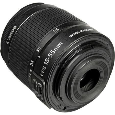 Canon EF-S 18-55mm f:3.5-5.6 IS II Lens-b