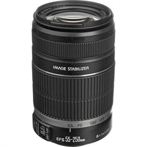Canon EF-S 55-250mm f:4-5.6 IS Lens