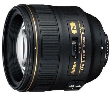 Nikon AF-S NIKKOR 85mm f:1.4G Lens