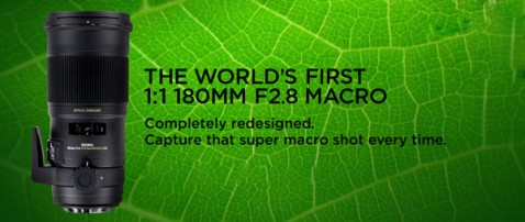 Sigma 180mm f:2.8 EX DG OS HSM APO Macro