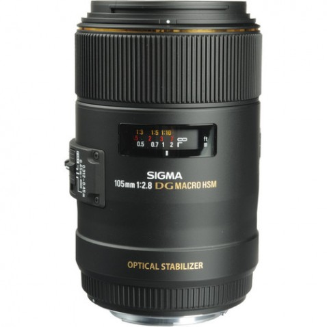 Sigma 105mm f:2.8 EX DG OS Macro