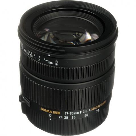 Sigma 17-70mm f:2.8-4 DC Macro OS Lens