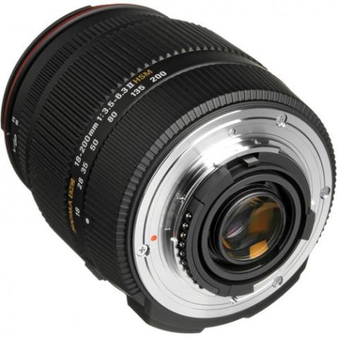 Sigma 18-200mm f:3.5-6.3 II DC OS mount