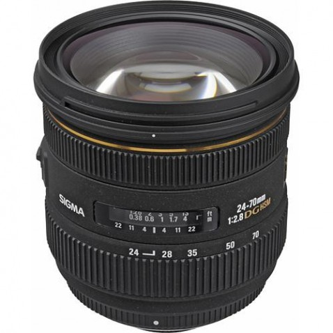 Sigma 24-70mm f:2.8 EX DG HSM Lens