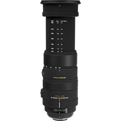 Sigma 50-500mm f:4.5-6.3 DG OS HSM Lens
