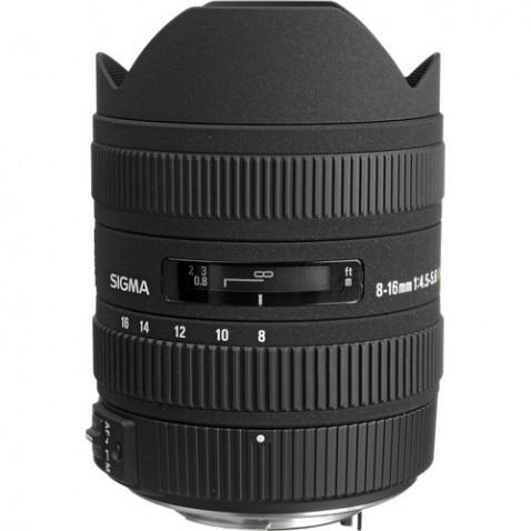 Sigma 8-16mm f:4.5-5.6 DC HSM lens