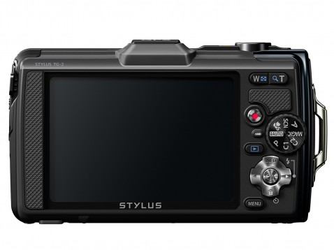 Olympus Stylus Tough TG-2 iHS Back LCD