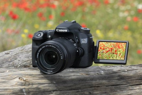 Canon Unveils EOS 70D With 20 2 MP Sensor & Wi-fi Capability
