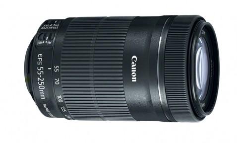 Canon EF-S 55-250mm STM Telephoto Zoom Lens