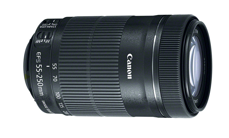 canon releases new ef s 55 250mm f 4 5 6 is stm telephoto zoom lens digital photography live. Black Bedroom Furniture Sets. Home Design Ideas