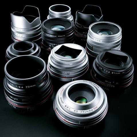 Ricoh HD PENTAX DA Limited Lenses