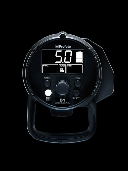 Profoto B1 Flash (Back)