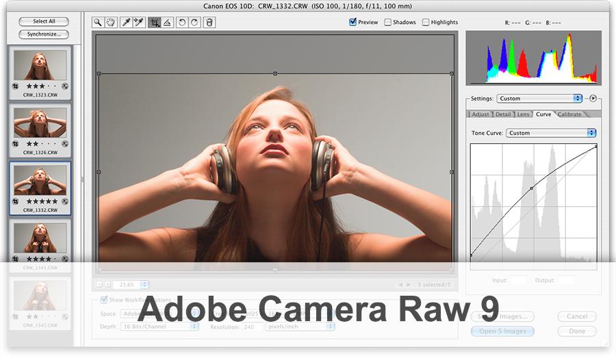 Adobe Camera Raw 9 - фото 8