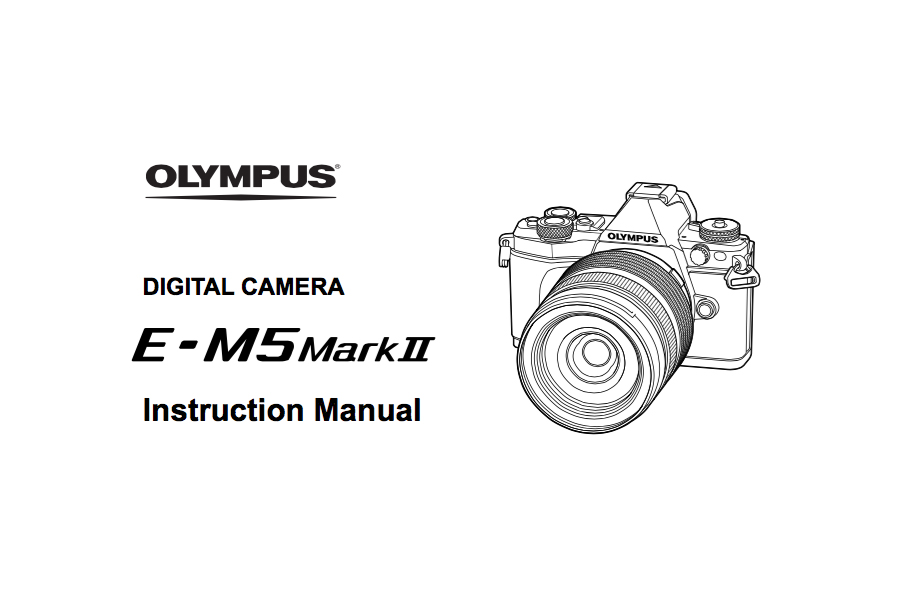 olympus e m5 instruction manual