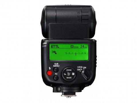 Canon 430EX III-RT Speedlite - Back LCD