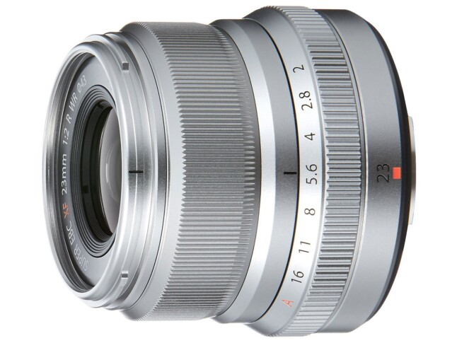 Fujifilm Fujinon XF 23mm F2 R WR - Silver