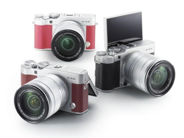 Fujifilm X-A3 Cameras