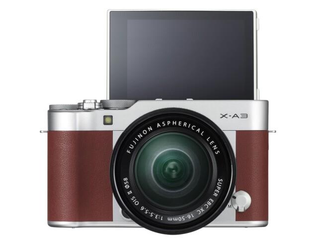 Fujifilm X-A3 - front