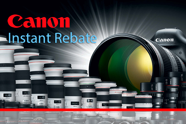 Canon Black Friday Instant Rebate