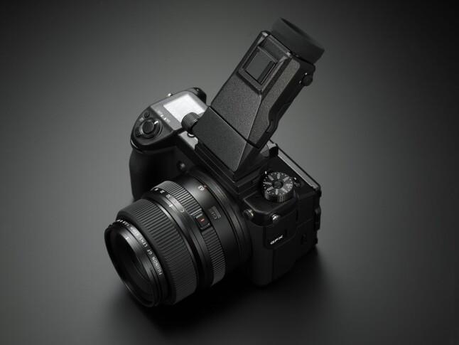 Fujifilm GFX 50S - Finder