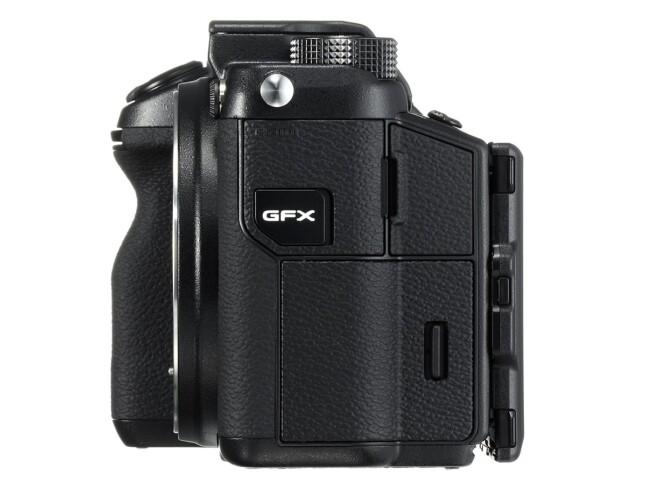 Fujifilm GFX 50S - side 2