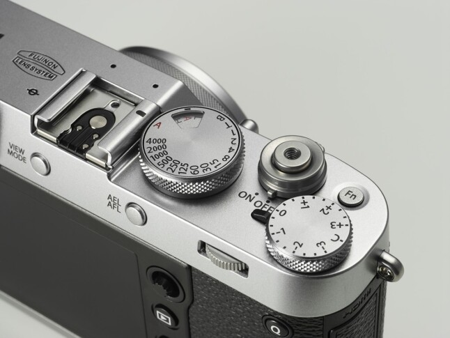 Fujifilm X100F Top Panel