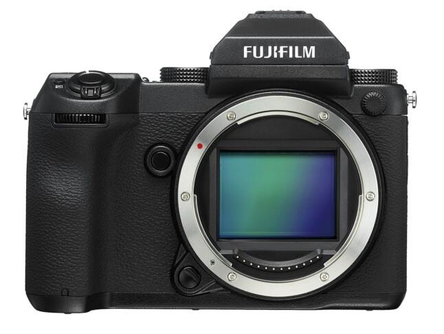 Fujifilm medium-format GFX 50S Front