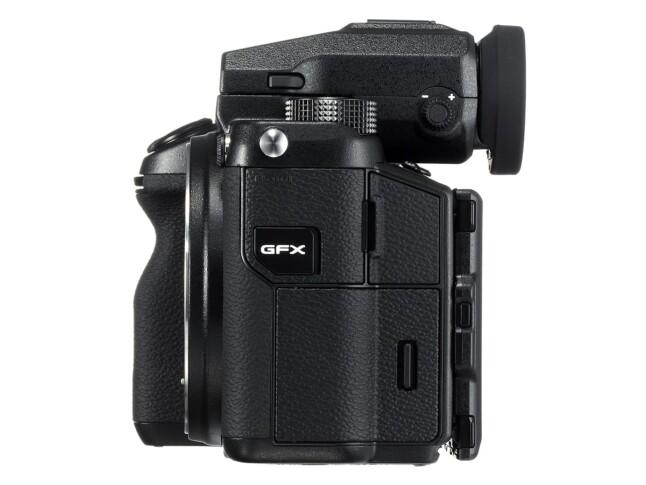 Fujifilm medium-format GFX 50S - side 1