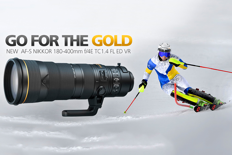 Nikon AF-S Nikkor 180-400mm f/4E TC1.4 FL ED VR Lens